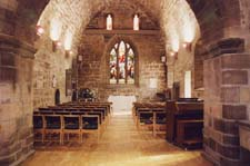 interior of Priory church. Click here to view large image (55kb)